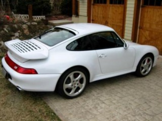 Chiptuning Porsche 993 911 Turbo - 300 kw